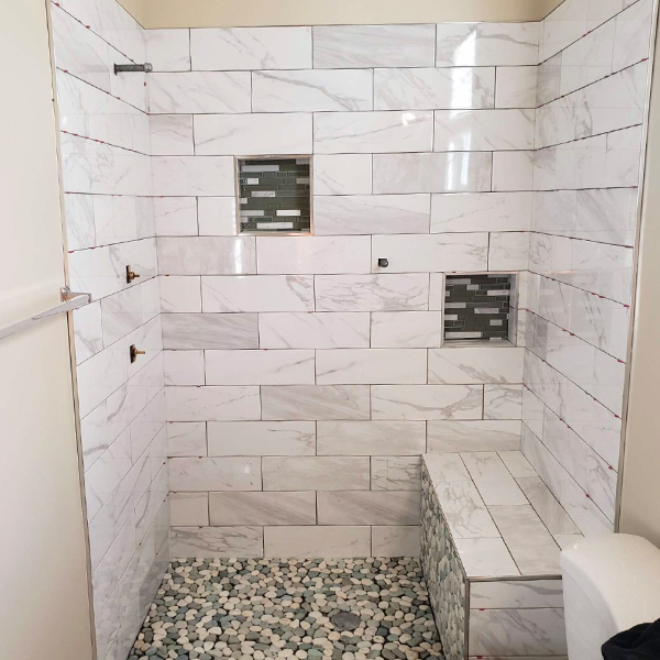 Tile Shower 2