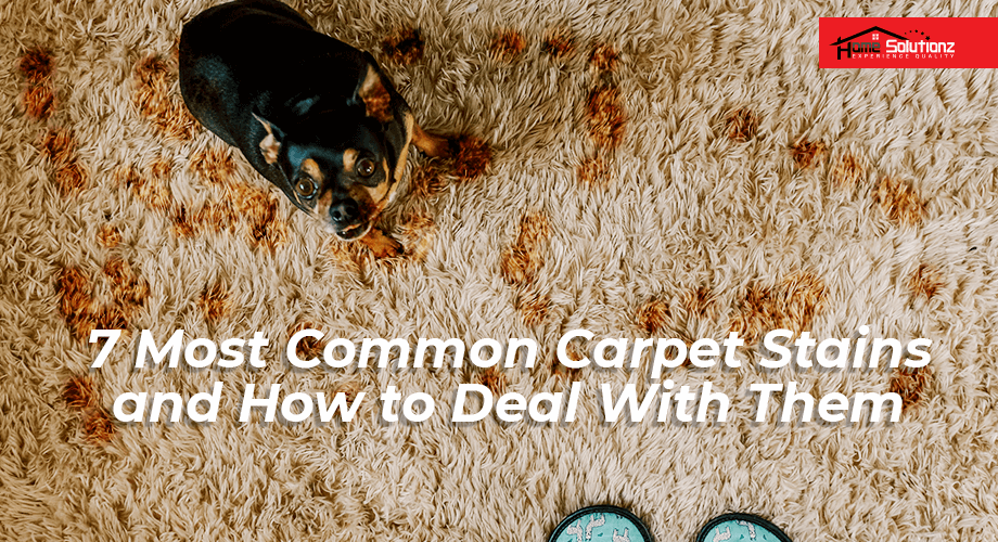 Having carpets in your home means you mostly likely have had carpet stain issues at some point.