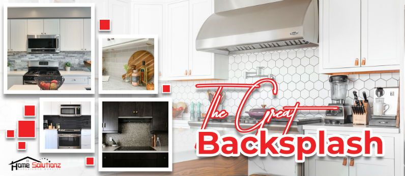 Behind Every Great Sinks and Countertops is a Backsplash