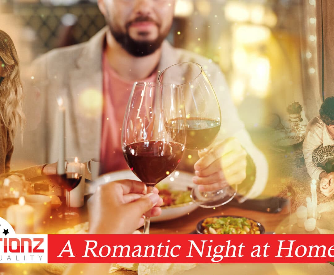 """A Romantic Night At Home"""